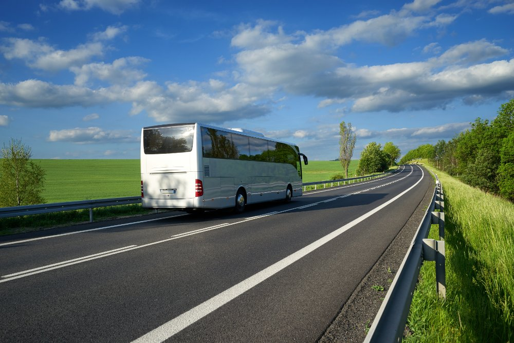 Hire a bus to save time and reduce stress with group travel